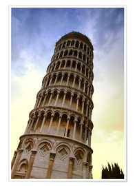 Premium poster The Leaning Tower Of Pisa Tuscany Italy