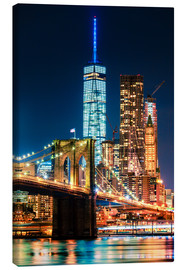 Canvas print  New York City Landmarks - Sascha Kilmer