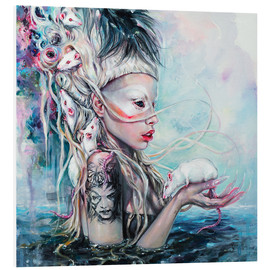 Foam board print  Yolandi, the rat mistress - Tanya Shatseva