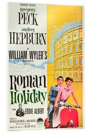 Acrylic print  Roman Holiday