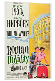 Foam board print  Roman Holiday