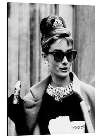 Aluminium print  Breakfast at Tiffany's