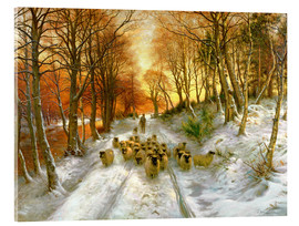 Acrylic print  Glowed with Tints of Evening Hours - Joseph Farquharson