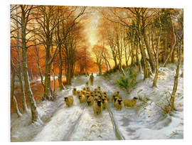 Foam board print  Through the Calm and Frosty Air - Joseph Farquharson