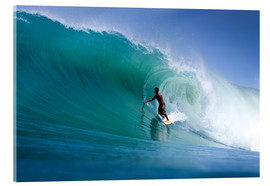 Acrylic print  Surfing the dream wave - Paul Kennedy