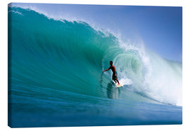 Canvas print  Surfing the dream wave - Paul Kennedy