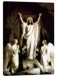 Canvas print  The resurrection - Carl Bloch