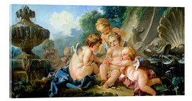 Acrylic print  Angels in the Game - François Boucher