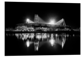 Forex  Weserstadion, Bremen in black and white - Tanja Arnold Photography