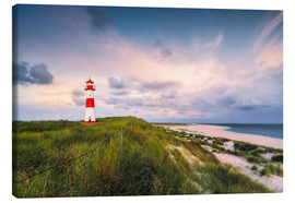 Canvas print  Lighthouse in the morning light (Sylt / Elbow / List East) - Dirk Wiemer