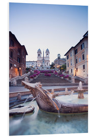 Forex  Famous Spanish Steps and Bernini fountain, Rome, Italy - Matteo Colombo