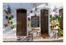 Premium poster  Typical bar in Andalusia - Matteo Colombo