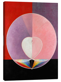 Canvas print  The Dove, No. 2 - Hilma af Klint