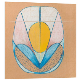 Foam board print  Untitled - Hilma af Klint