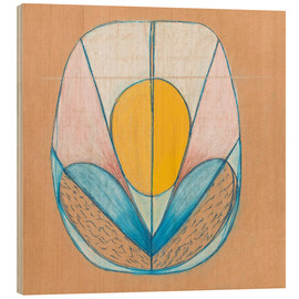 Wood print  Untitled - Hilma af Klint