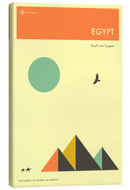 Canvas  Egypt - Jazzberry Blue