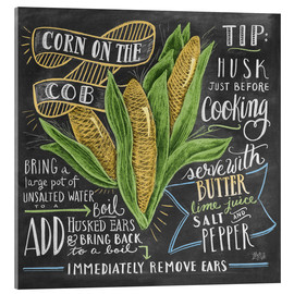 Acrylic print  Corn on the cob - Lily & Val
