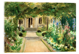Acrylic print  View from the Kitchen Garden - Max Liebermann