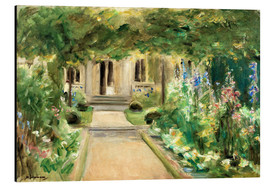 Aluminium print  View from the kitchen garden - Max Liebermann