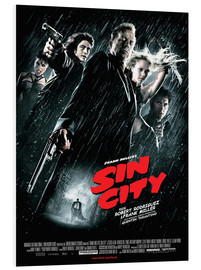 Foam board print  Sin City - Entertainment Collection