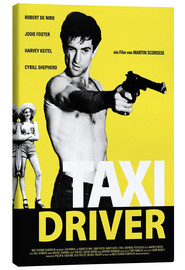 Canvas print  Taxi Driver - Entertainment Collection