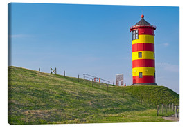 Canvas print  Lighthouse Pilsum - Anna Reinert