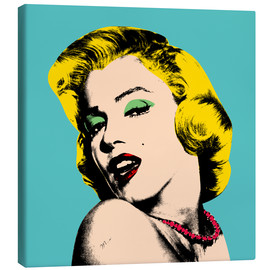Canvas  Marilyn Monroe - Mark Ashkenazi