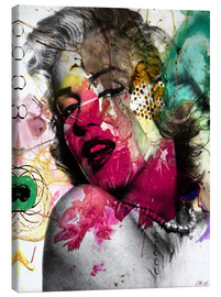 Canvas print  Marilyn Monroe - Mark Ashkenazi