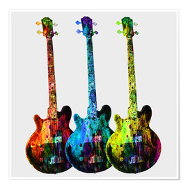 Premium poster  Guitars - Mark Ashkenazi