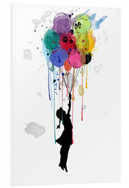 Foam board print  Drips balloon - Mark Ashkenazi