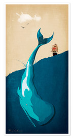Premium poster Moby Dick I