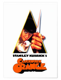 Premium poster  A Clockwork Orange - Entertainment Collection