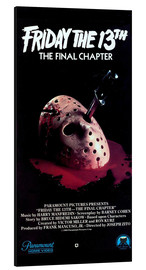 Aluminium print  Friday the 13th: The Final Chapter - Entertainment Collection