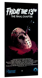 Foam board print  Friday the 13th: The Final Chapter - Entertainment Collection