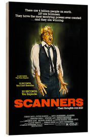 Wood print  Scanners - Entertainment Collection