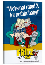 Canvas print  Fritz the Cat - Entertainment Collection