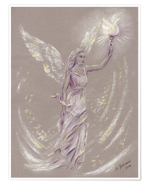 Premium poster  Angel of Hope - Marita Zacharias