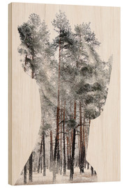 Wood print  Insight - Andreas Lie