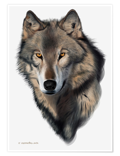 WOLVES GLOSSY POSTER PICTURE BANNER wall decor wolf pack timberwolves dogs 2383
