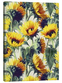 Canvas print  Sunflowers forever - Micklyn Le Feuvre