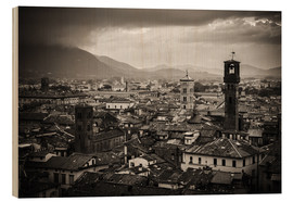 Wood print  Lucca - Tuscany - Alexander Voss