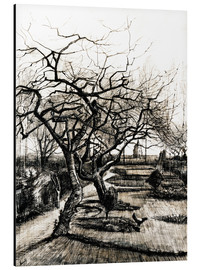 Aluminium print  The Parsonage Garden at Nuenen in Winter - Vincent van Gogh