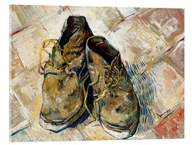 Acrylic print  A Pair of Shoes - Vincent van Gogh