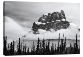 Canvas print  Castle Mountain - Andreas Kossmann