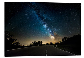 Acrylic print  Milchstraße over Road - Andreas Wonisch