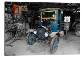 Aluminium print  Route66 Old Ford TT - Michael Rucker