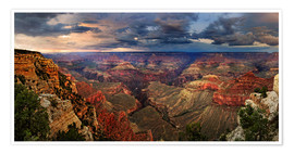 Premium poster  Grand Canyon View - Michael Rucker
