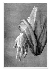 Premium poster Left hand of an apostle