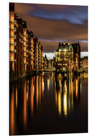 Foam board print  Warehouse District, Hamburg - Germany - Achim Thomae
