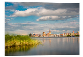 Forex  View over the river Warnow to Rostock (Germany) - Rico Ködder